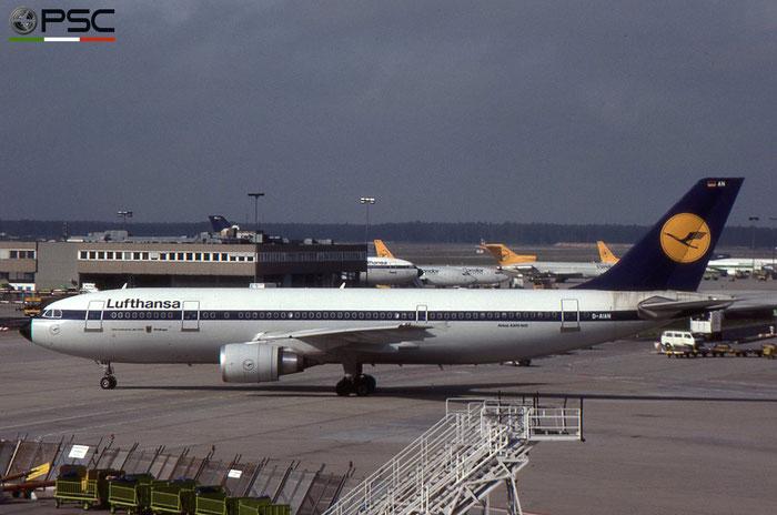 D-AIAN A300B4-603 411 Lufthansa © 2018 courtesy of Marco Ceschi - Piti Spotter Club Verona