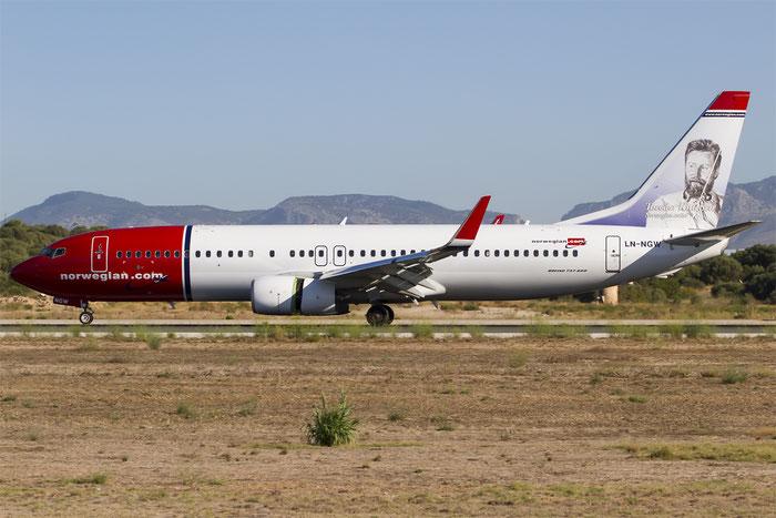 LN-NGW B737-8JP 39032/4889 Norwegian @ Palma de Mallorca Airport 07.2014 © Piti Spotter Club Verona