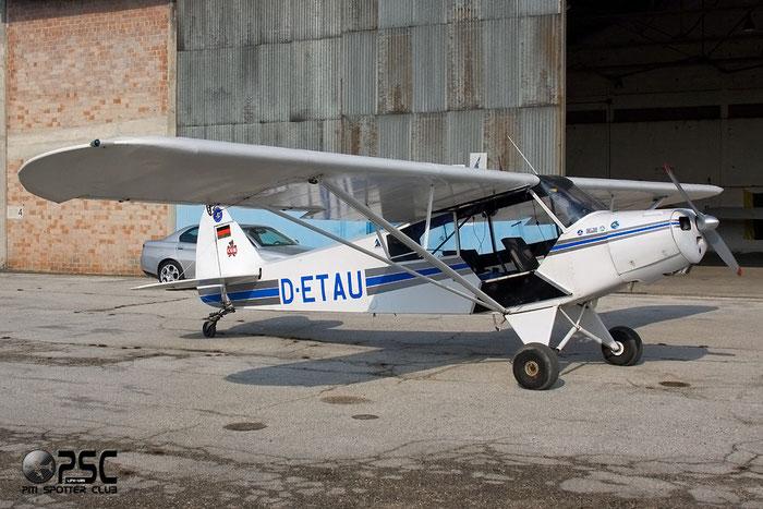 D-ETAU - Piper PA-18 Super Cub @ Aeroporto Verona Boscomantico © Piti Spotter Club Verona