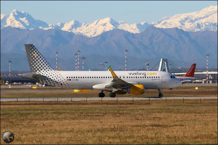 EC-MAI A320-214 6045 Vueling Airlines @ Milano Malpensa Airport 31.01.2015 © Piti Spotter Club Verona