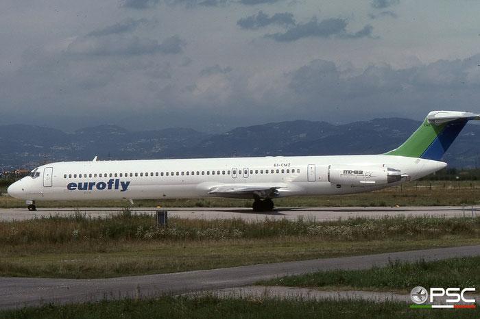 EI-CMZ  MD-83  49390/1269  Eurofly  @ Aeroporto di Verona © Piti Spotter Club Verona