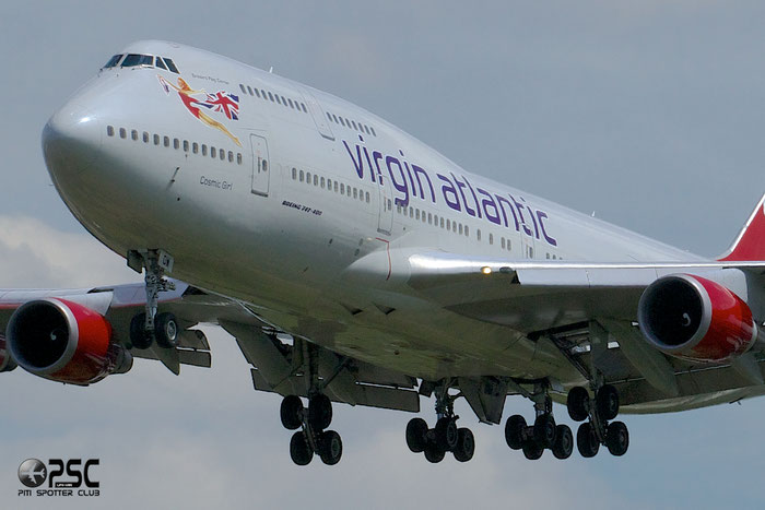 G-VWOW B747-41R 32745/1287 Virgin Atlantic Airways @ London Heathrow Airport 12.06.2014 © Piti Spotter Club Verona