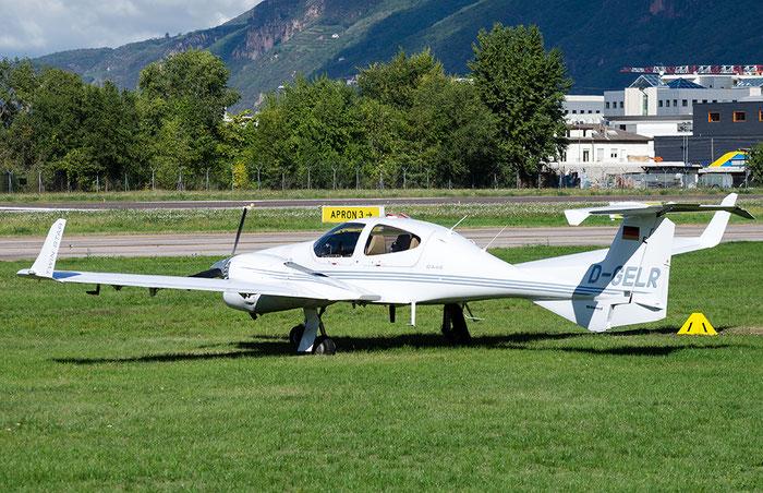 D-GELR Diamond Aircraft Industries DA-42 Twin Star G1000 DA42 42.085 - Private @ Aeroporto di Bolzano © Piti Spotter Club Verona