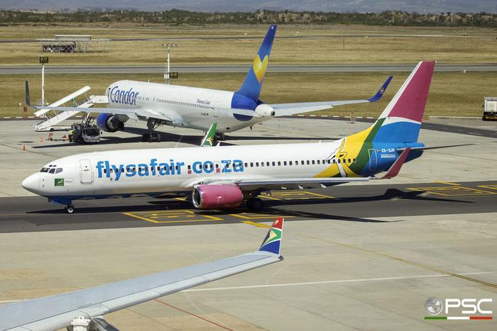 ZS-SJR B737-844 32631/1176 FlySafair @ Cape Town International Airport 24.11.2017 © Piti Spotter Club Verona