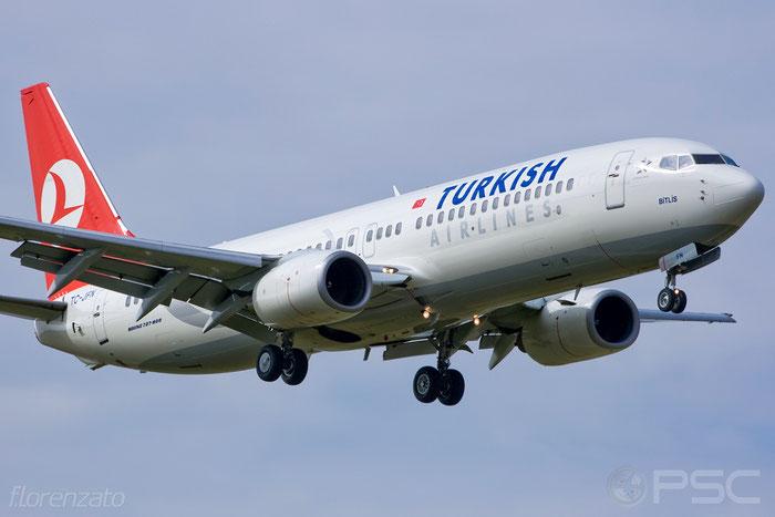 TC-JFN B737-8F2 29776/308 Turkish Airlines - THY Türk Hava Yollari @ Aeroporto di Verona 2009  © Piti Spotter Club Verona