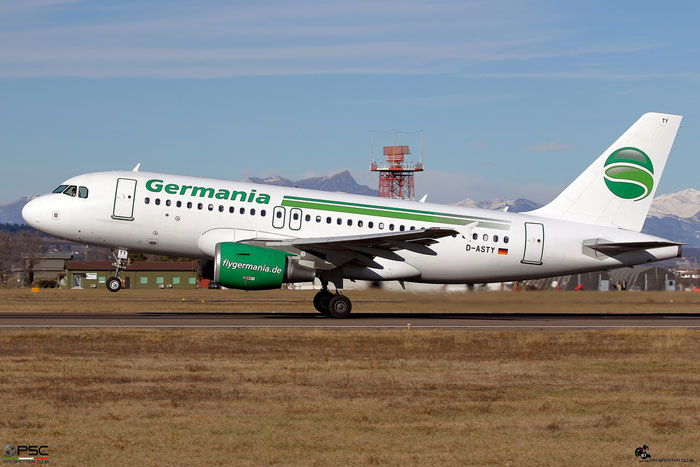 D-ASTY A319-112 3407 Germania