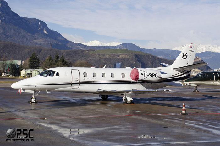 YU-SPC Ce560XLS+ 560-6136 Prince Aviation @ Aeroporto di Verona © Piti Spotter Club Verona