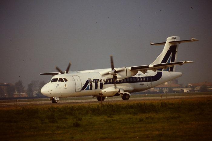 I-ATRL  ATR42-300  068  ATI - Aero Transporti Italiani  @ Aeroporto di Verona © Piti Spotter Club Verona