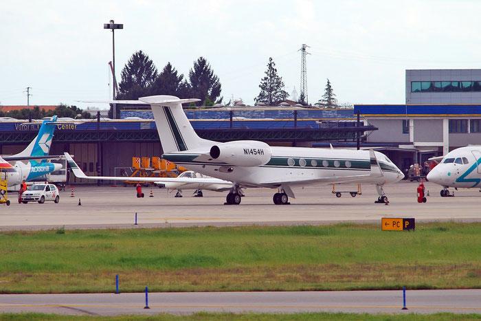 N1454H G-V 619 Gulfstream Aerospace Corp. @ Aeroporto di Verona   © Piti Spotter Club Verona