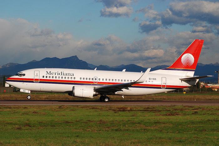 EI-IGS  B737-36N  28562/2908  Meridiana  @ Aeroporto di Verona © Piti Spotter Club Verona