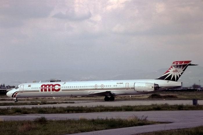 SU-BMS  MD-90-30  53553/2165  AMC Airlines - Aircraft Maintenance Company  © Piti Spotter Club Verona
