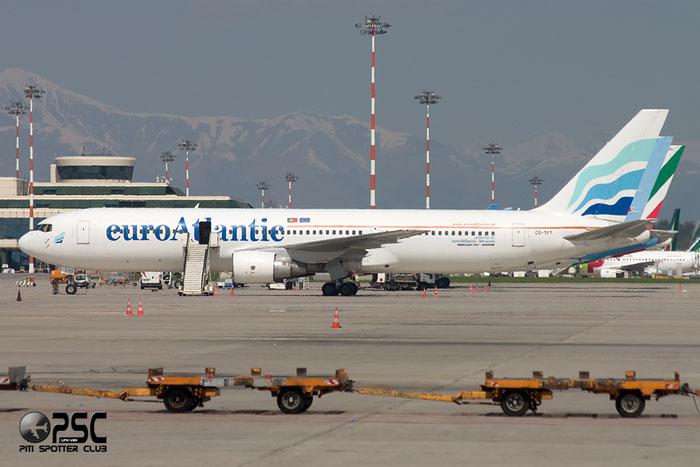 CS-TFT B767-3Y0ER 26208/505 euroAtlantic Airways @ Milano Malpensa Airport 06.04.2014 © Piti Spotter Club Verona