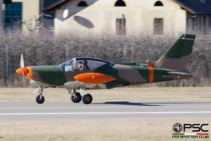 I-SMAA SIAI-Marchetti SF-260C F260 369/42-001 @ Aeroporto di Bolzano © Piti Spotter Club Verona