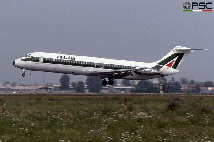 I-DIBC DC-9-32 47233/429 Alitalia © 2018 courtesy of Marco Ceschi - Piti Spotter Club Verona
