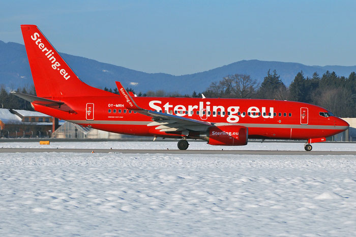 OY-MRH B737-7L9 28013/682 Cimber Sterling @ Salzburg Airport 2011 © Piti Spotter Club Verona