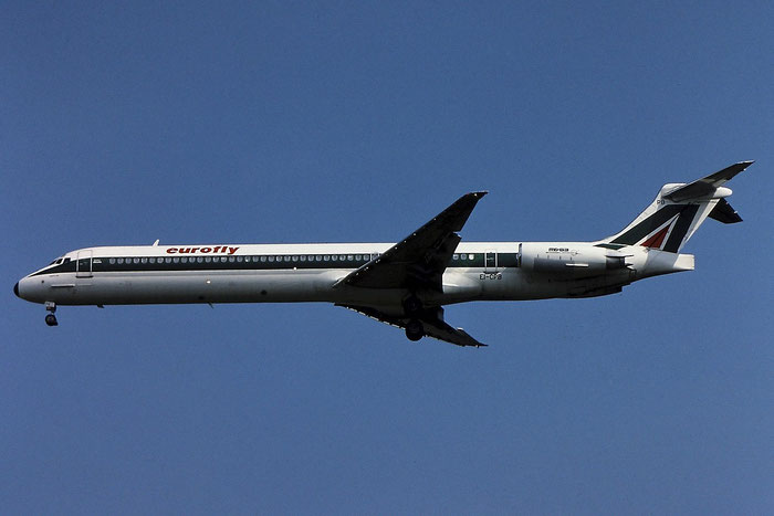 EI-CPB  MD-83  49940/1788  Eurofly  @ Aeroporto di Verona © Piti Spotter Club Verona