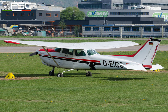 D-EIGS Cessna 172RG Cutlass C72R 172RG0568 @ Aeroporto di Bolzano © Piti Spotter Club Verona