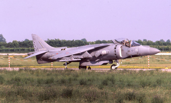 MM7221  1-15  AV-8B-22-MC+  IT010  Gruppo Aerei I @ Aeroporto di Verona   © Piti Spotter Club Verona