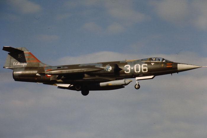 Gli F-104 del Terzo Stormo: 3-06 -  @ Aeroporto di Verona   © Piti Spotter Club Verona