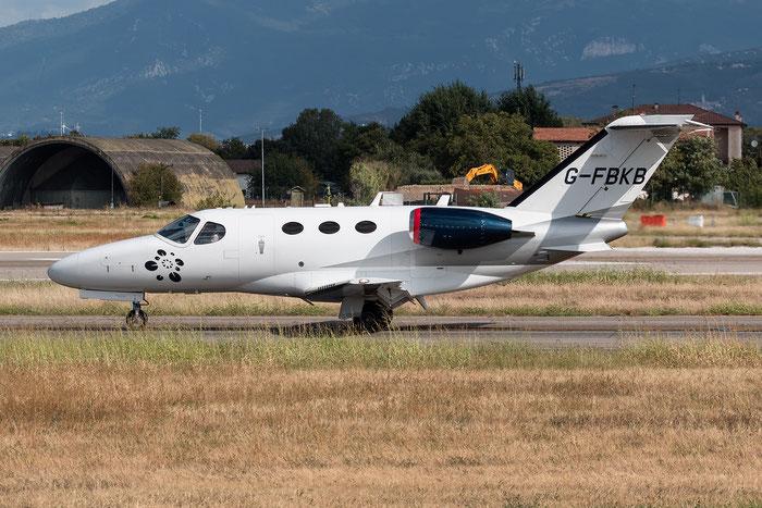 G-FBKB Ce510 510-0126 Blink Ltd. @ Aeroporto di Verona 21.08.2017  © Piti Spotter Club Verona