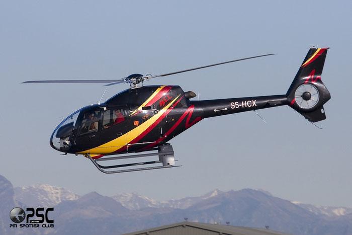 FlyCom - Eurocopter EC 120B Colibri - S5-HCX @ Aeroporto di Verona © Piti Spotter Club Verona