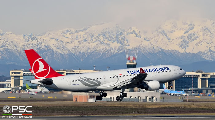 TC-JNE A330-203 774 Turkish Airlines - THY Türk Hava Yollari @ Milano Malpensa Airport 20.02.2016 © Piti Spotter Club Verona