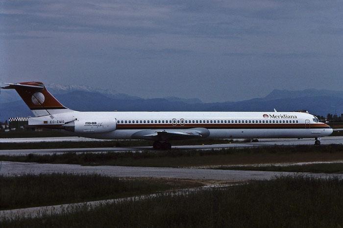 EC-EMG  MD-83  49626/1538  Meridiana Air  @ Aeroporto di Verona © Piti Spotter Club Verona