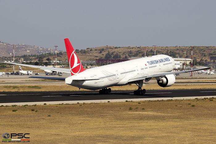 TC-JJP  B777-3F2ER  40797/959  Turkish Airlines - THY Türk Hava Yollari  @ Athens 2019 © Piti Spotter Club Verona