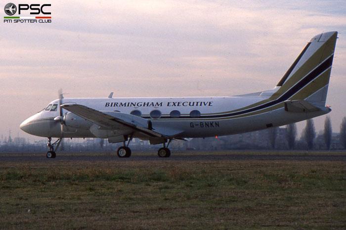G-BNKN G-I 159 Birmingham European Airways © 2018 courtesy of Marco Ceschi - Piti Spotter Club Verona