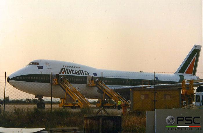 I-DEMP  B747-243B  22513/546  Alitalia  @ Aeroporto di Verona © Piti Spotter Club Verona