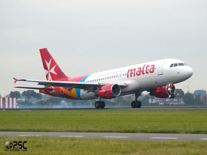 9H-AEN A320-214 2665 Air Malta @ Amsterdam Airport 20.09.2013 © Piti Spotter Club Verona