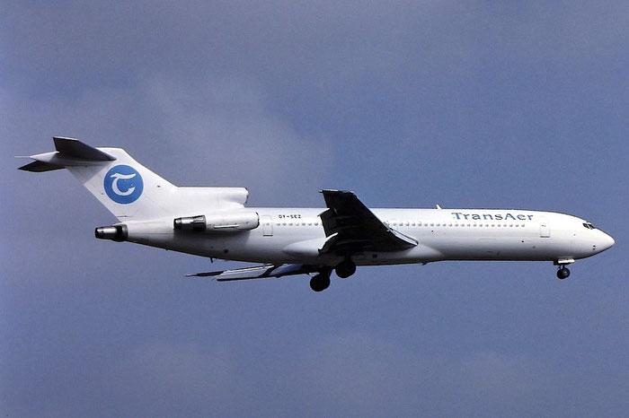 OY-SEZ  B727-2M7  21202/1221  TransAer International Airlines  @ Aeroporto di Verona © Piti Spotter Club Verona