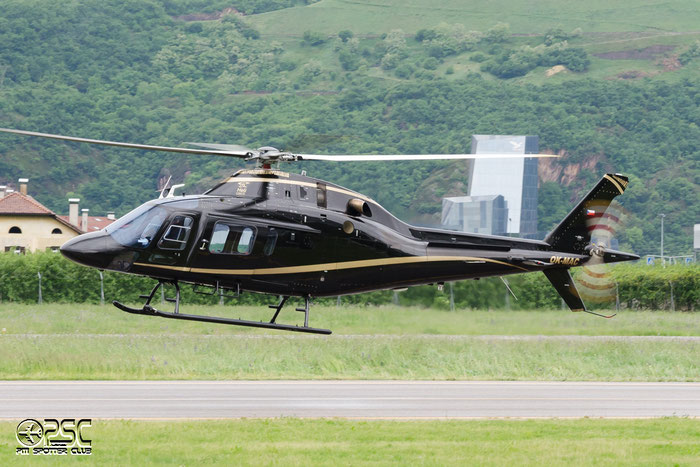 OK-MAC AgustaWestland AW119 - OK-MAC - Private @ Aeroporto di Bolzano © Piti Spotter Club Verona