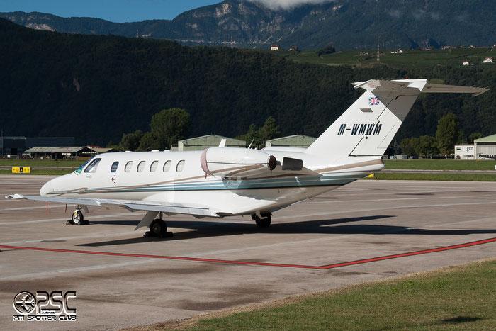 M-WMWM Ce525A 525A-0113 Flightpartner @ Aeroporto di Bolzano © Piti Spotter Club Verona