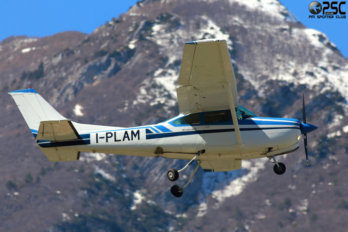 I-PLAM Reims Aviation FR182 Skylane RG C82R 003 @ Aeroporto di Trento © Piti Spotter Club Verona