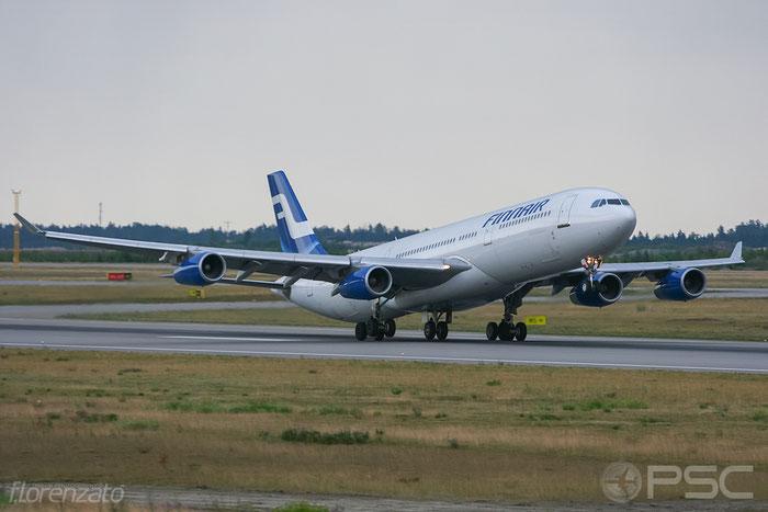 OH-LQA A340-311 58 Finnair @ Helsinki Airport 2008 © Piti Spotter Club Verona