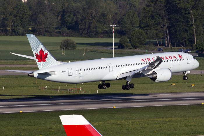 C-FNOE B787-9 35265/323 Air Canada @ Zurich Airport 05.2016 © Piti Spotter Club Verona