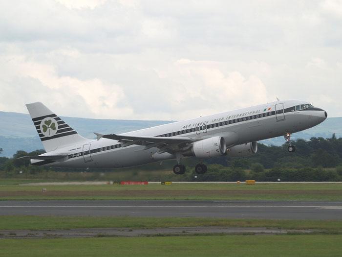 EI-DVM A320-214 4634 Aer Lingus @ Manchester Airport 20.07.2012  © Piti Spotter Club Verona
