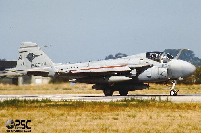 159904  504  A-6E  I-580 @ Aeroporto di Verona   © Piti Spotter Club Verona