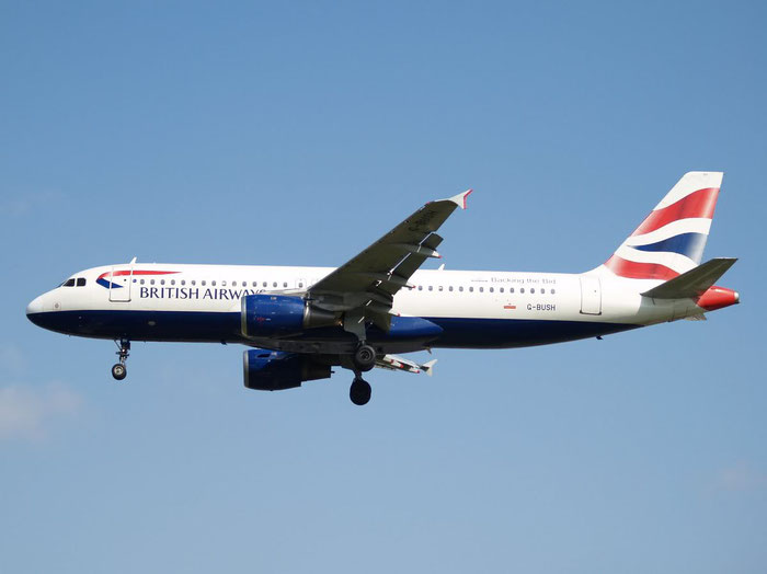 G-BUSH A320-211 42 British Airways @ London Heathrow  Airport 08.2007  © Piti Spotter Club Verona
