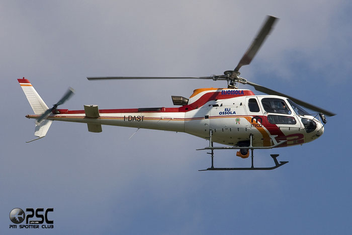 Eliossola - Eurocopter AS350B3 Ecureuil ( c/n 3436 ) I-DAST @ Aeroporto di Verona © Piti Spotter Club Verona