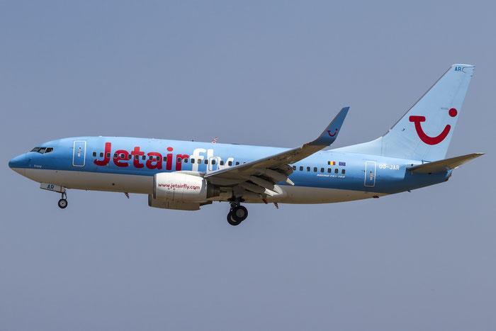 OO-JAR B737-7K5 35150/2825 Jetairfly @ Rhodes Airport 08.07.2015 © Piti Spotter Club Verona