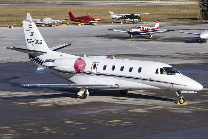 OE-GGG Ce560XLS+ 560-6013 Jet Fly @ Innsbruck Airport 29.12.2015 © Piti Spotter Club Verona