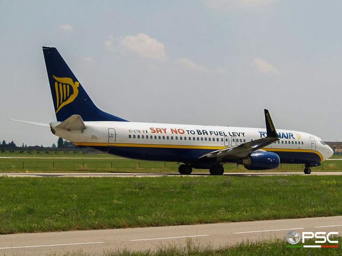 EI-CTB B737-8AS 29937/1238 Ryanair @ Aeroporto di Verona 23.06.2007  © Piti Spotter Club Verona