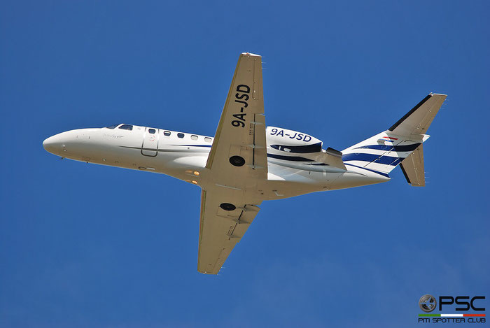 9A-JSD  Ce525A  525A-0166  Jung Sky  @ Aeroporto di Verona 2021 © Piti Spotter Club Verona