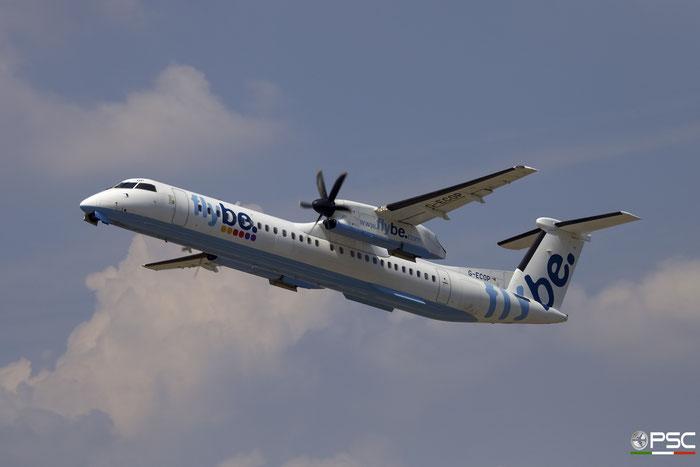 G-ECOP DHC-8-402 4242 Flybe - British European @ Aeroporto di Verona 29.07.2017  © Piti Spotter Club Verona