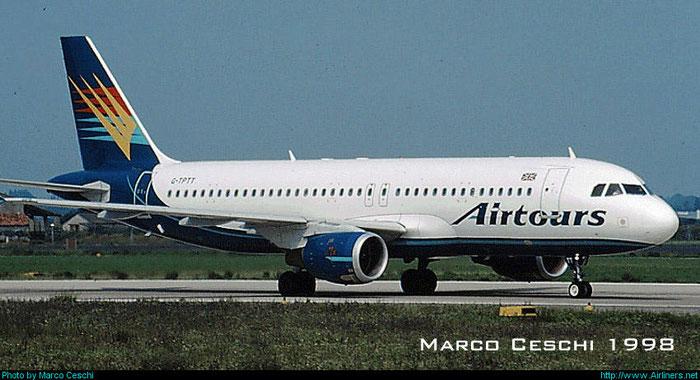 G-TPTT  A320-211  348  Airtours International Airways  @ Aeroporto di Verona © Piti Spotter Club Verona