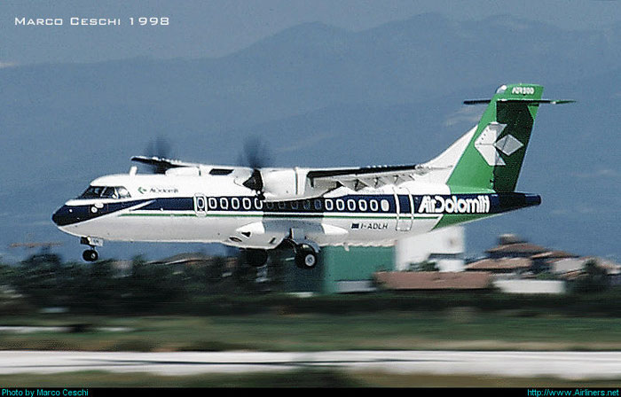I-ADLH  ATR42-500  445  Air Dolomiti  @ Aeroporto di Verona © Piti Spotter Club Verona