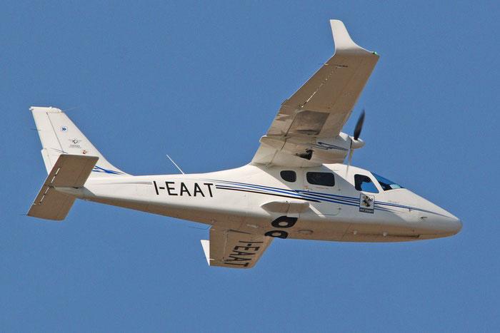 I-EAAT Tecnam P2006T (c/n 126)  @ Aeroporto di Verona 18.02.2017  © Piti Spotter Club Verona