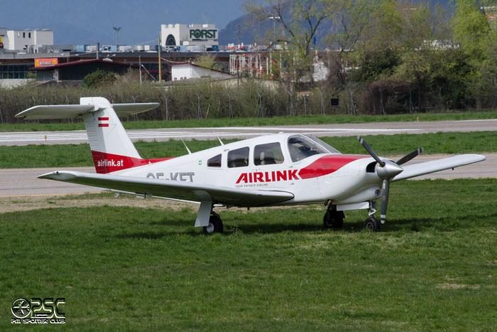 OE-KFT Piper PA-28RT-201T Turbo Arrow 4 P28T 28R-8431030 Airlink - @ Aeroporto di Bolzano © Piti Spotter Club Verona